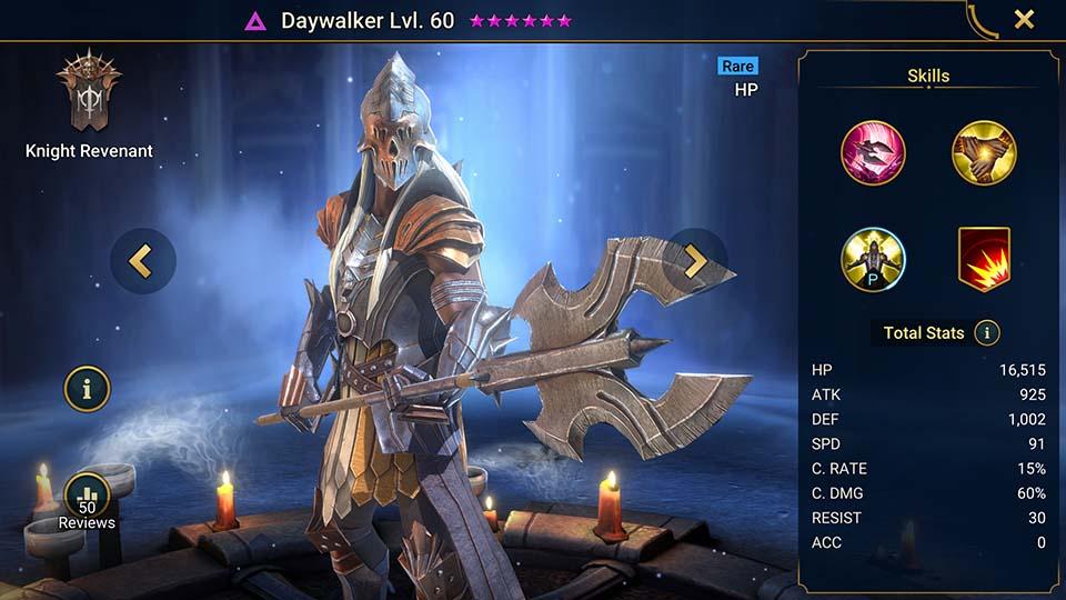 Daywalker Raid Shadow Legends