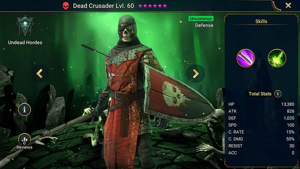 Dead Crusader Raid Shadow Legends