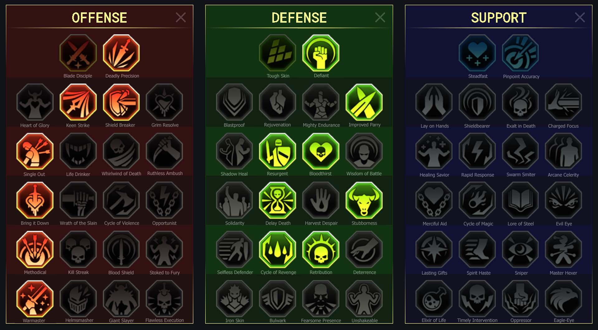 Deathchanter Arena Campaign Faction Wars