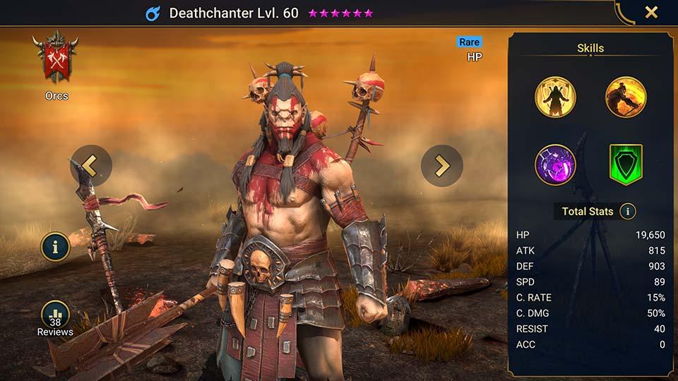 Deathchanter Raid Shadow Legends
