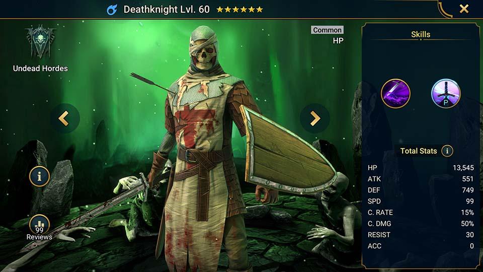 Deathknight Raid Shadow Legends