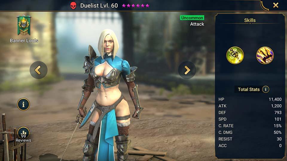 Duelist Raid Shadow Legends