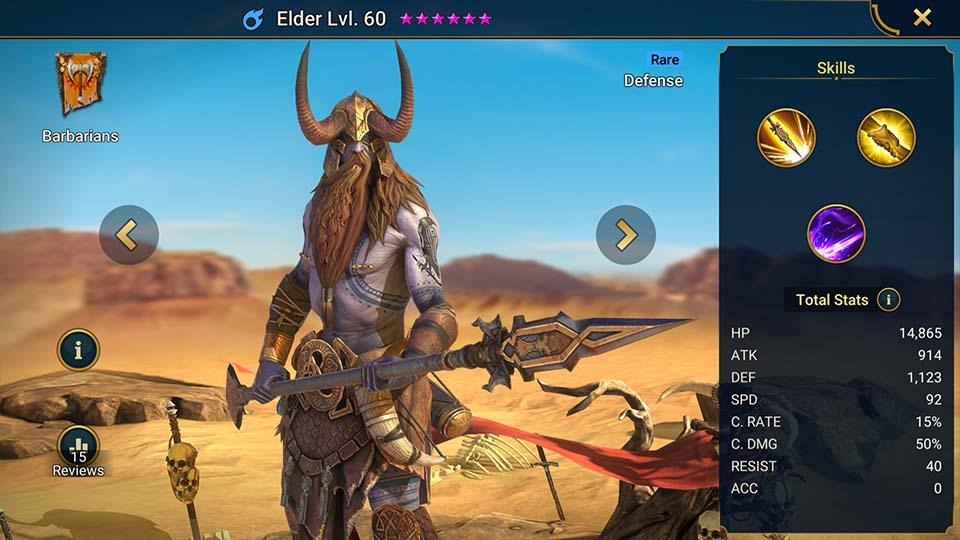Elder Raid Shadow Legends