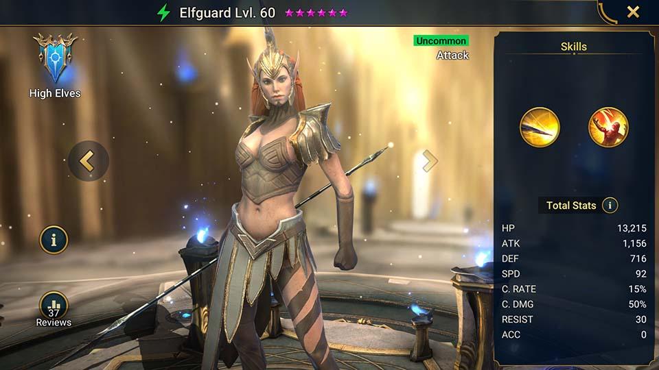 Elfguard Raid Shadow Legends