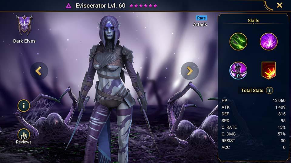 Eviscerator Raid Shadow Legends