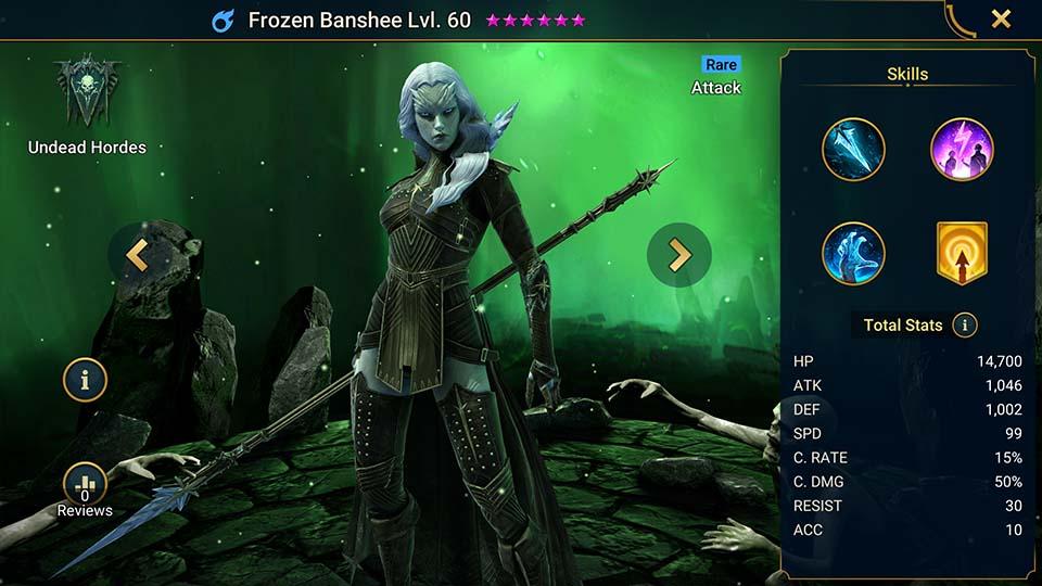 Frozen Banshee Raid Shadow Legends