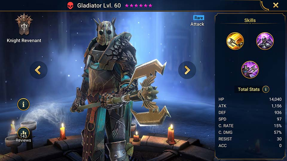Gladiator Raid Shadow Legends