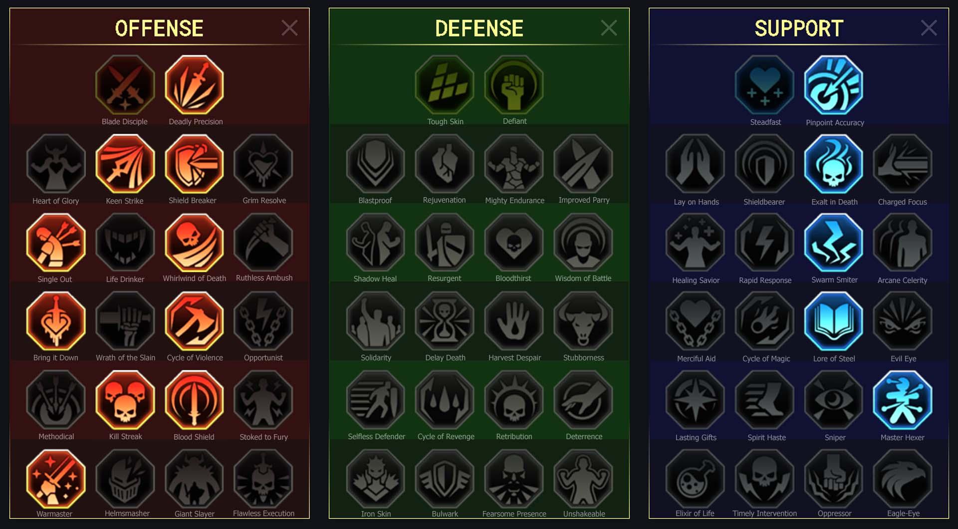 Gladiator guide