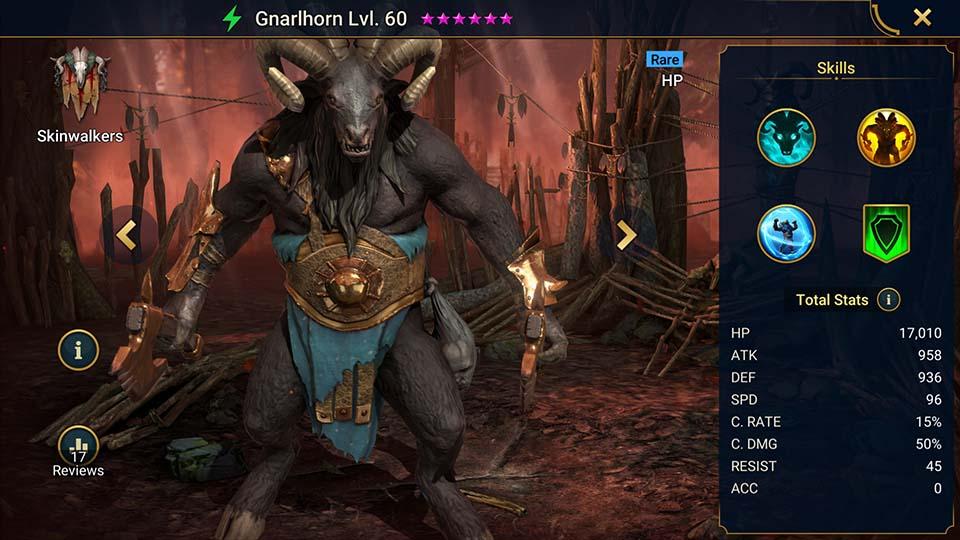 Gnarlhorn Raid Shadow Legends