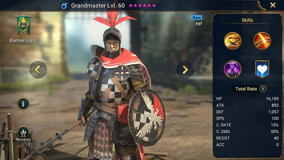 Grandmaster Raid Shadow Legends
