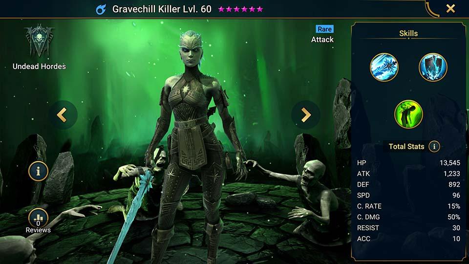 Gravechill Killer Raid Shadow Legends