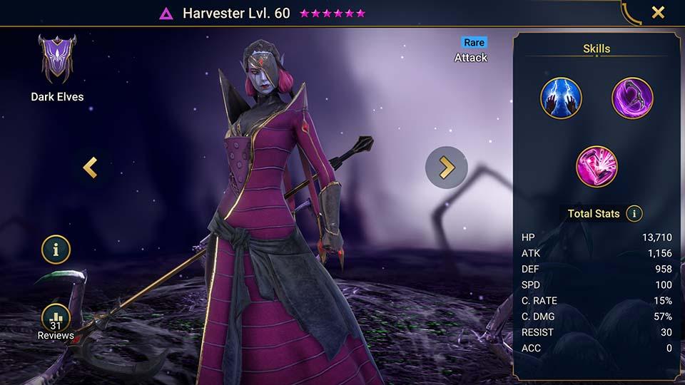 Harvester Raid Shadow Legends