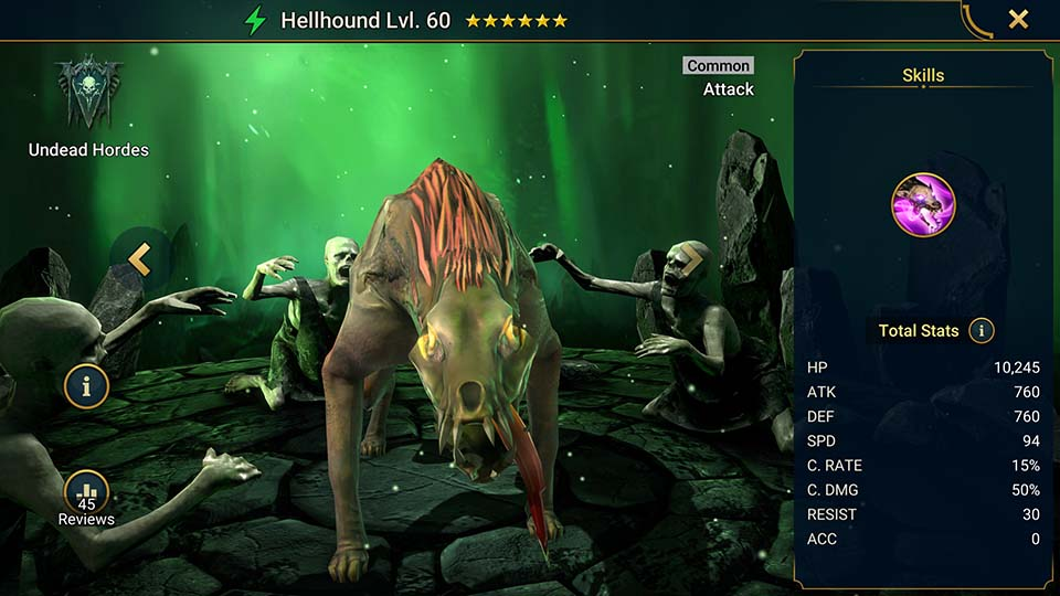 Hellhound Raid Shadow Legends