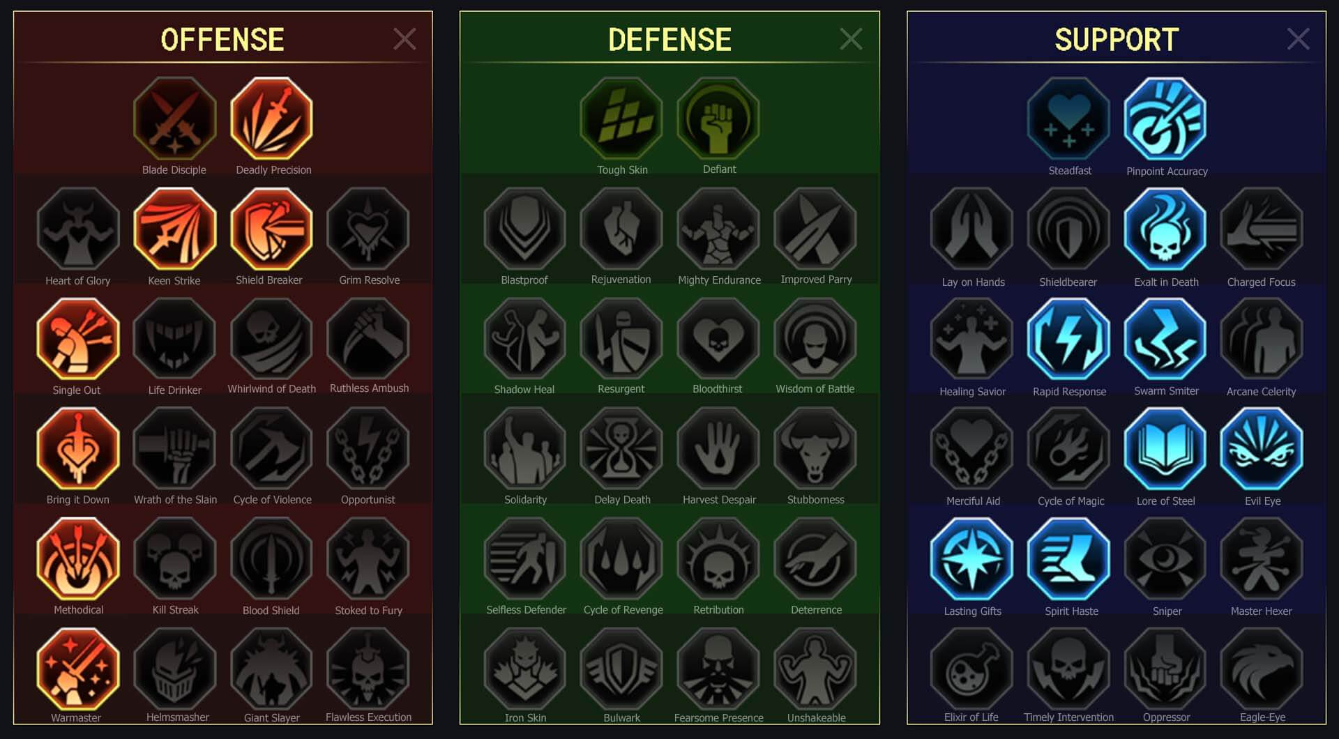 High Khatun Arena Campaign Clan Boss Dungeons Faction Wars