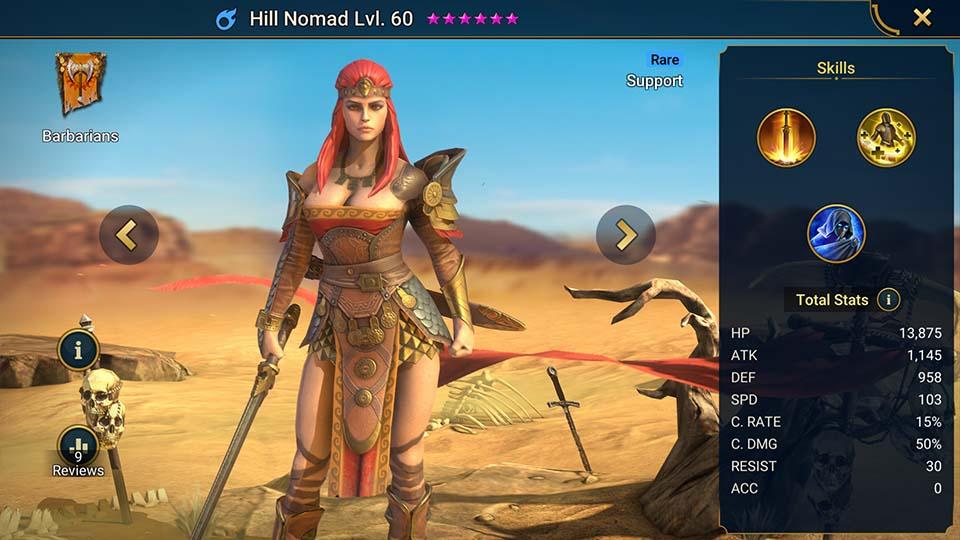 Hill Nomad Raid Shadow Legends