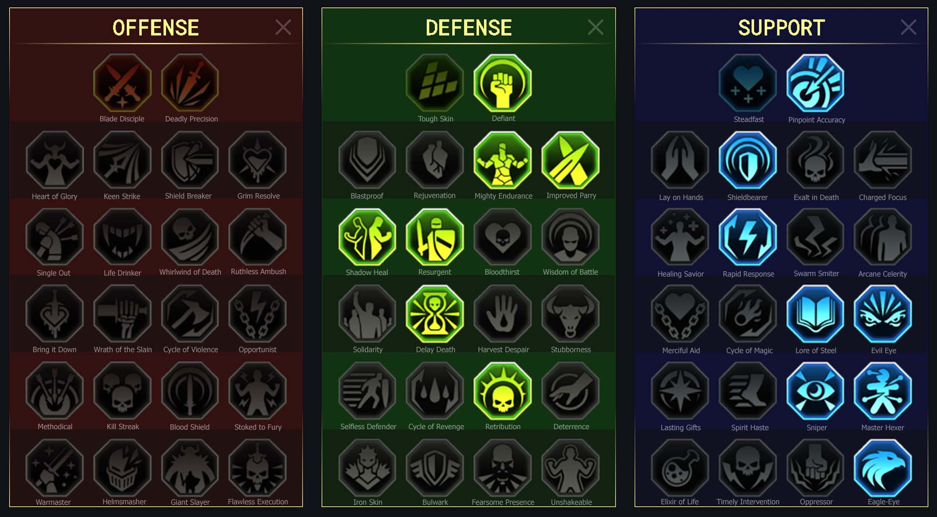 Hope Arena Campaign Faction Wars