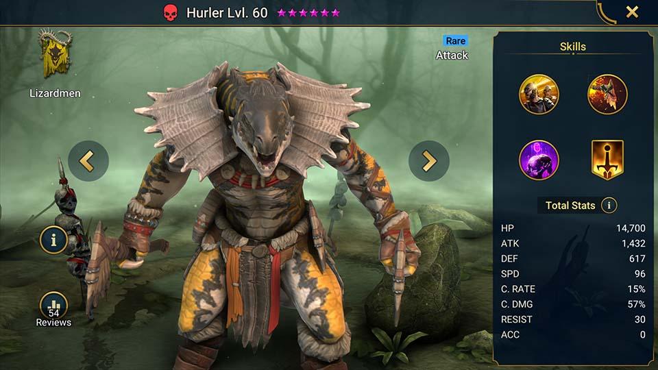 Hurler Raid Shadow Legends