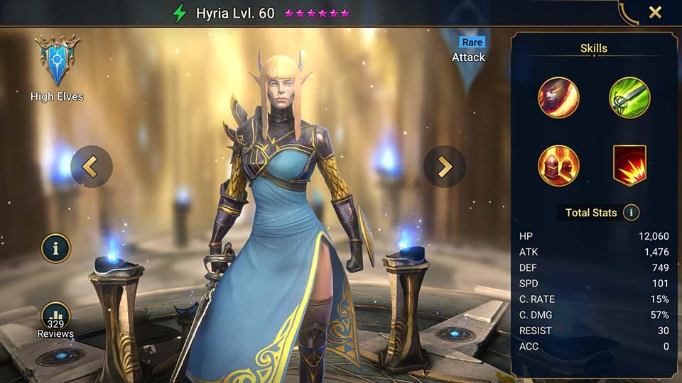Hyria Raid Shadow Legends