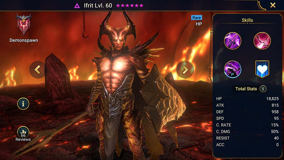 Ifrit Raid Shadow Legends