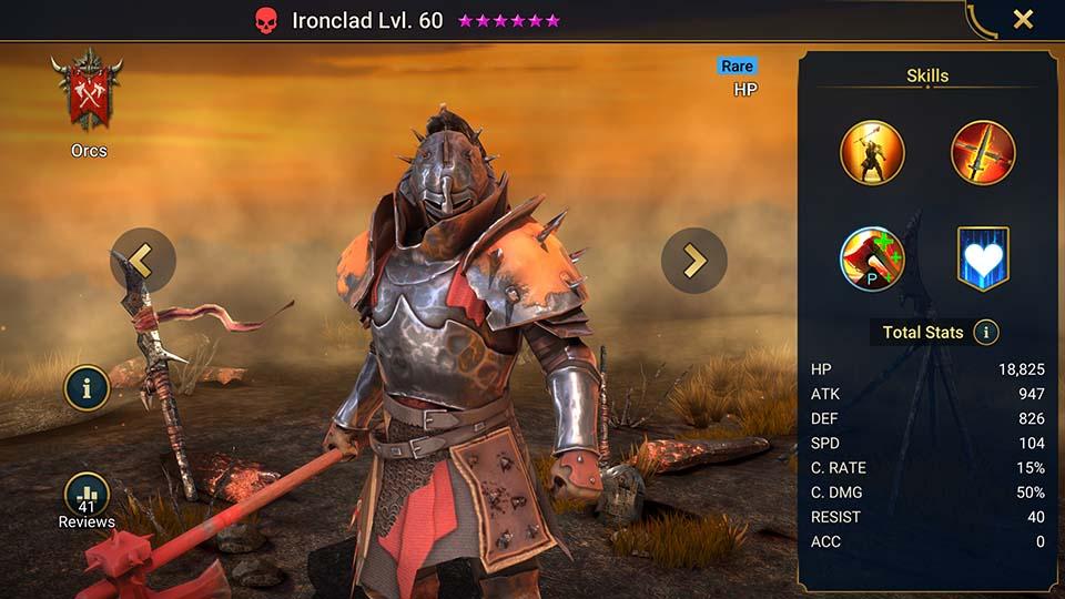 Ironclad Raid Shadow Legends
