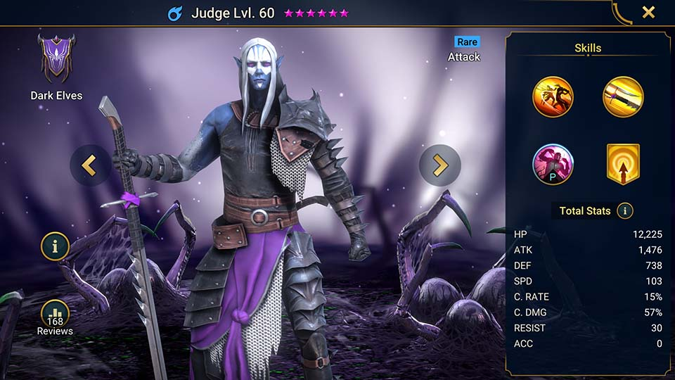 Judge Raid Shadow Legends