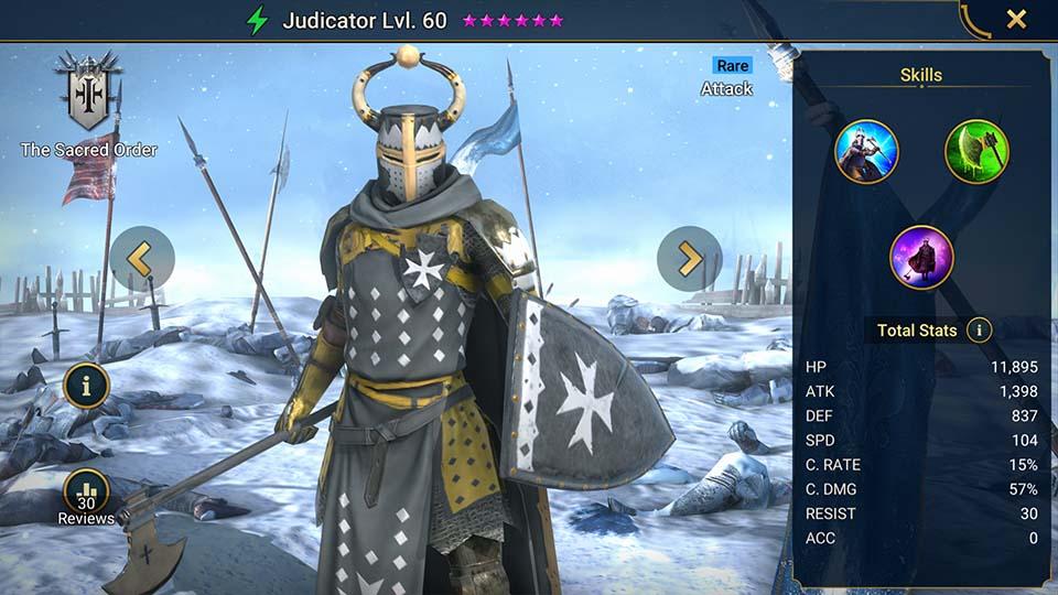Judicator Raid Shadow Legends