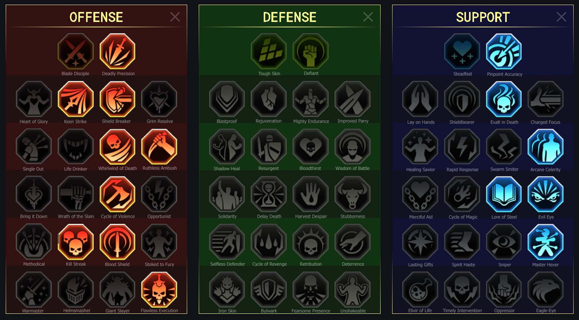 Kael Arena Campaign Faction Wars