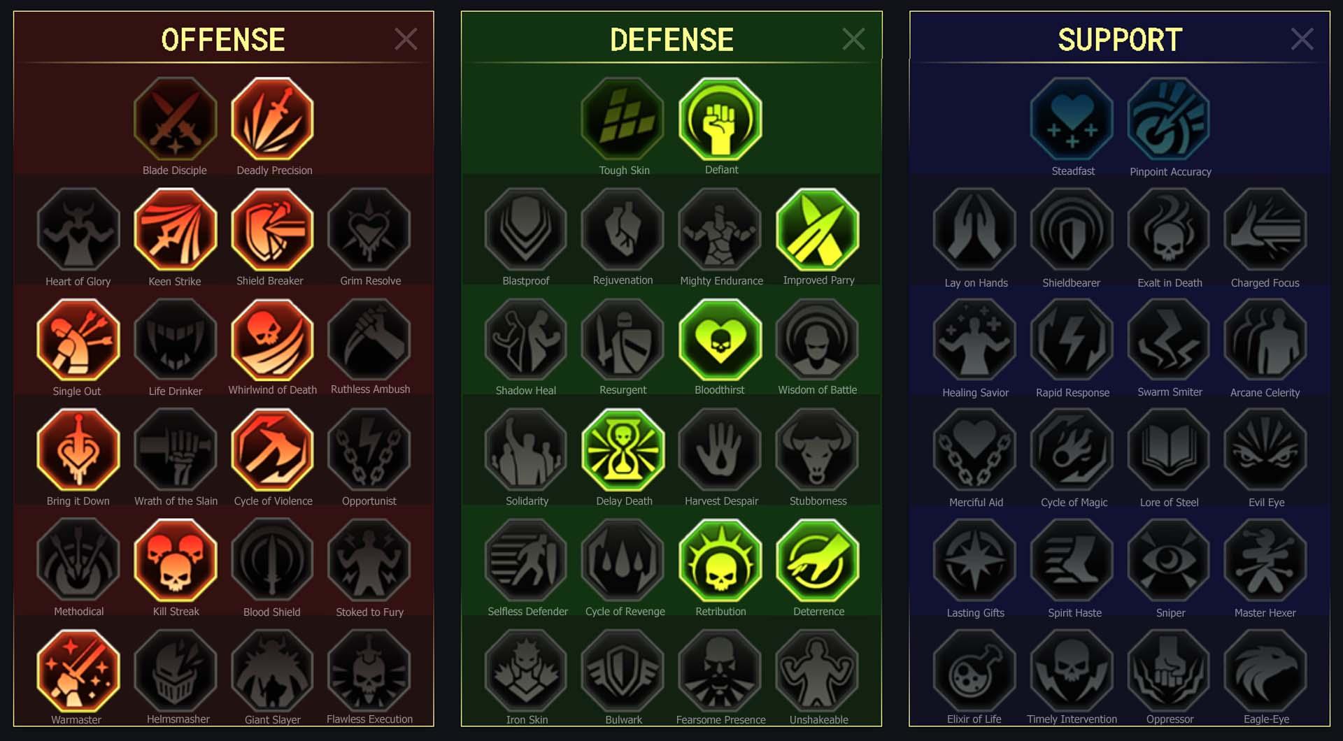 Karam Arena Campaign Clan Boss Dungeons Faction Wars