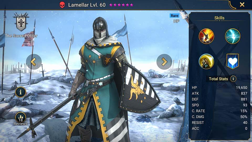 Lamellar Raid Shadow Legends