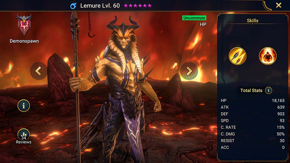 Lemure Raid Shadow Legends