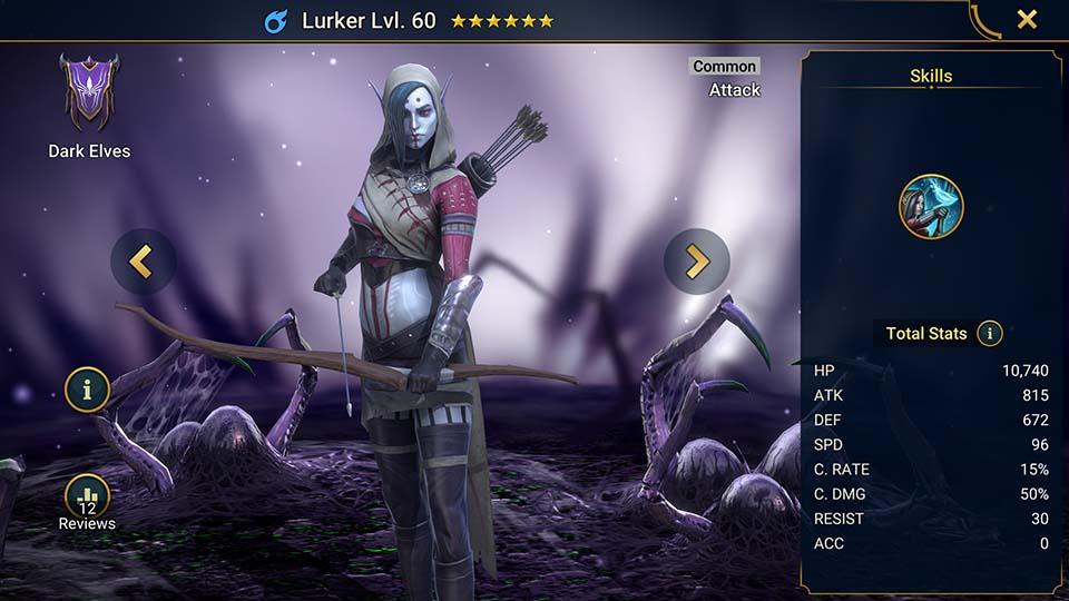 Lurker Raid Shadow Legends