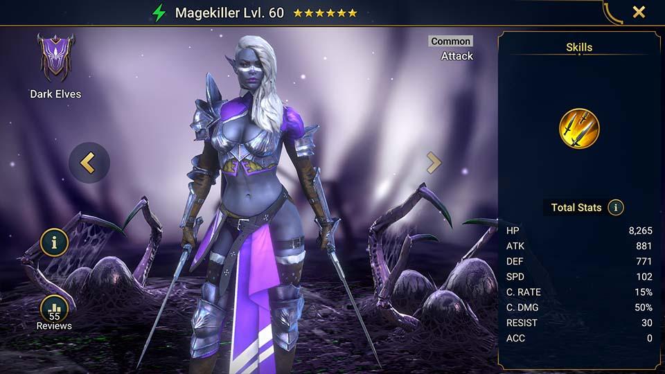 Magekiller Raid Shadow Legends