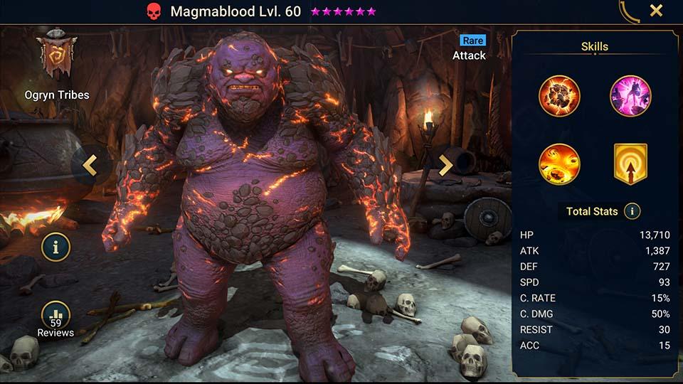 Magmablood Raid Shadow Legends