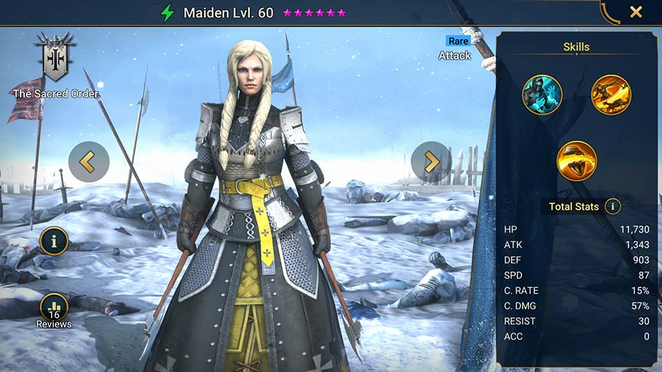 Maiden Raid Shadow Legends