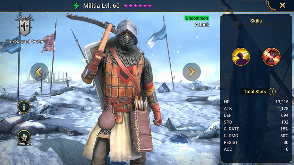 Militia Raid Shadow Legends