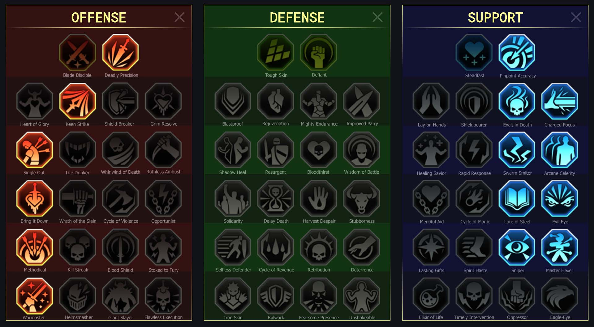 Mystic Hand guide