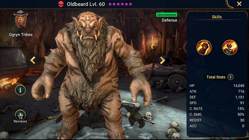 Oldbeard Raid Shadow Legends