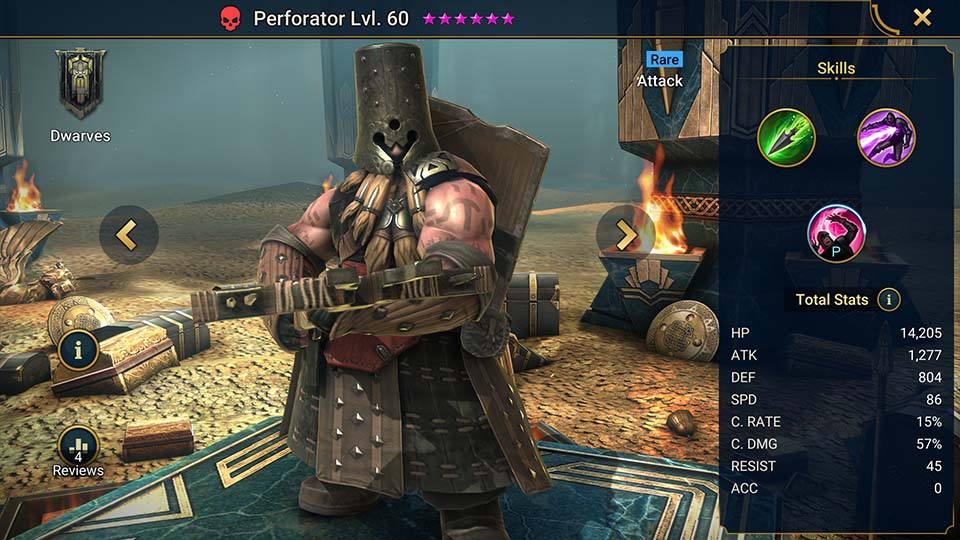 Perforator Raid Shadow Legends