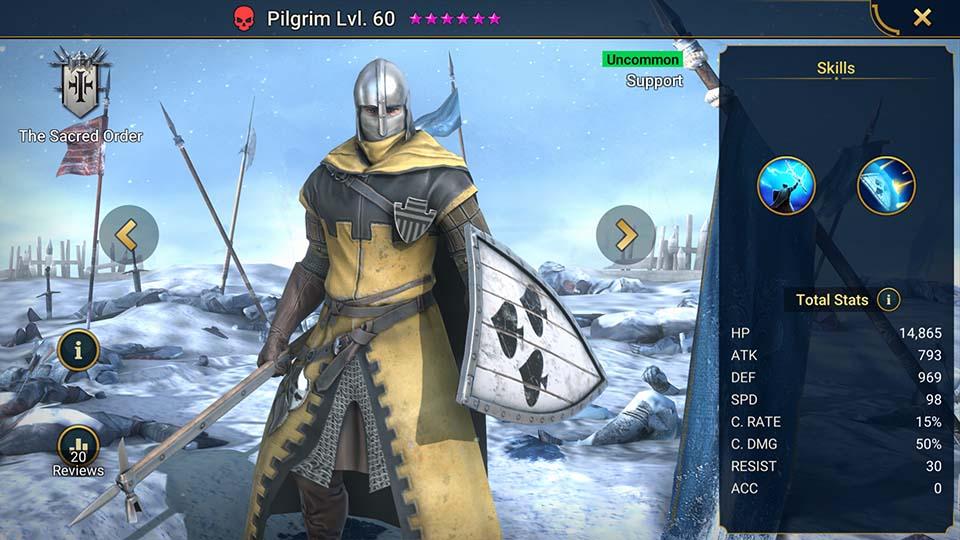Pilgrim Raid Shadow Legends