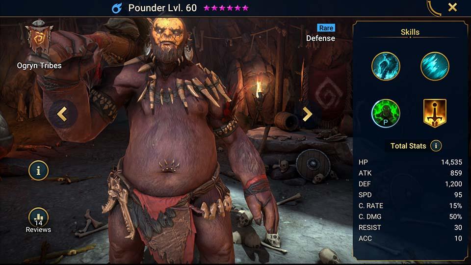 Pounder Raid Shadow Legends