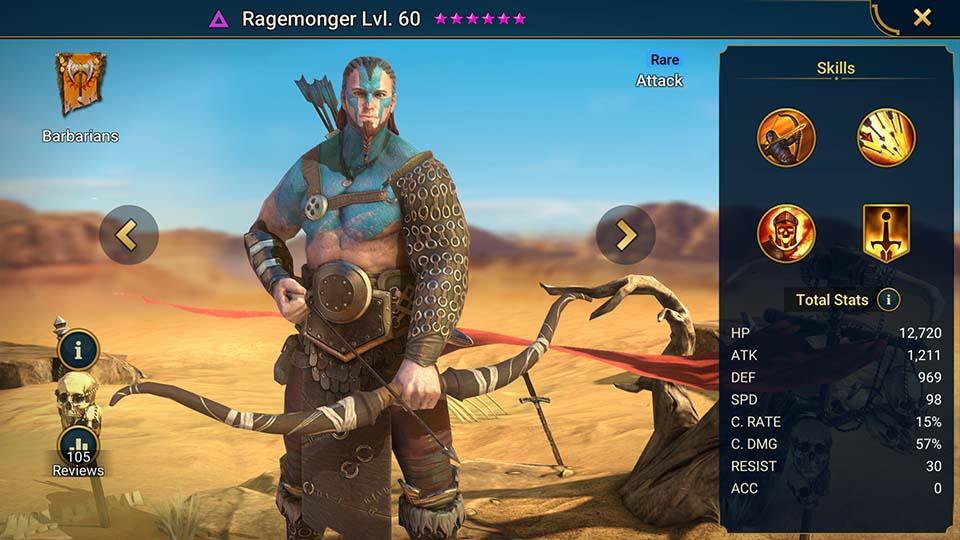 Ragemonger Raid Shadow Legends