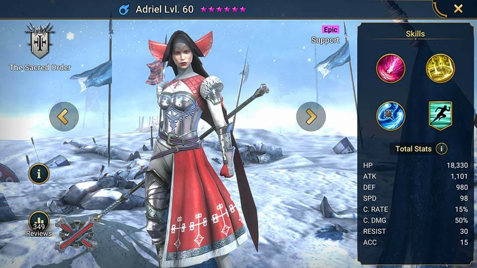 Raid Shadow Legends Adriel