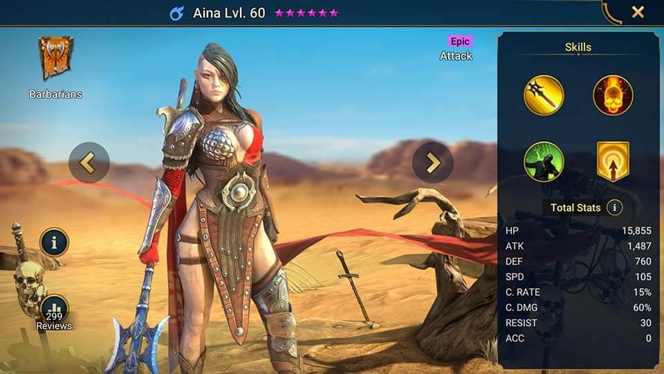 Raid Shadow Legends Aina