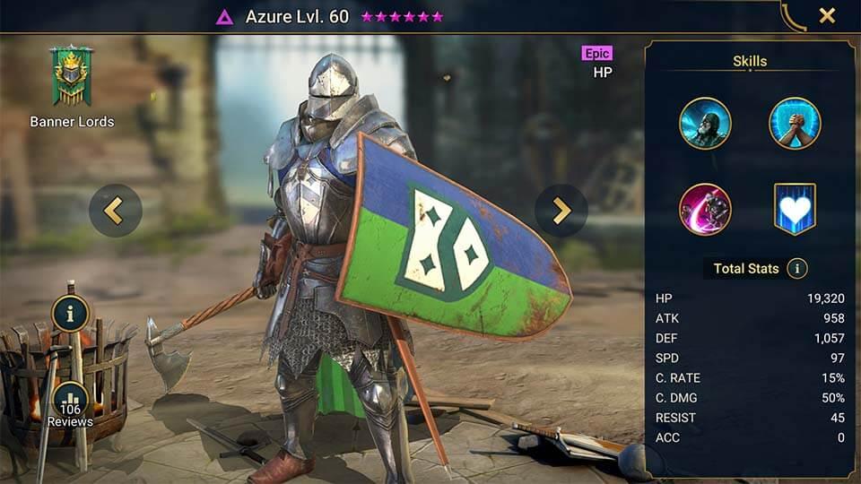 Raid Shadow Legends Azure