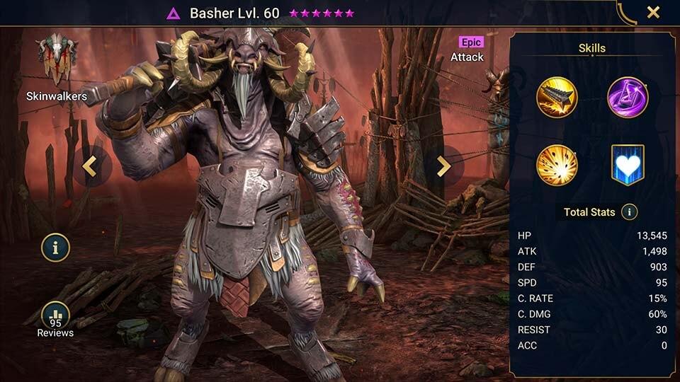 Raid Shadow Legends Basher