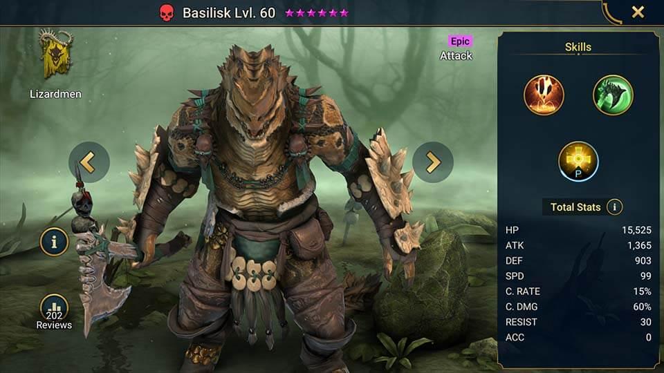 Raid Shadow Legends Basilisk