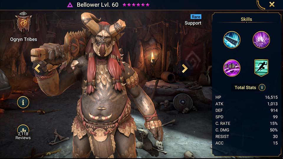 Raid Shadow Legends Bellower