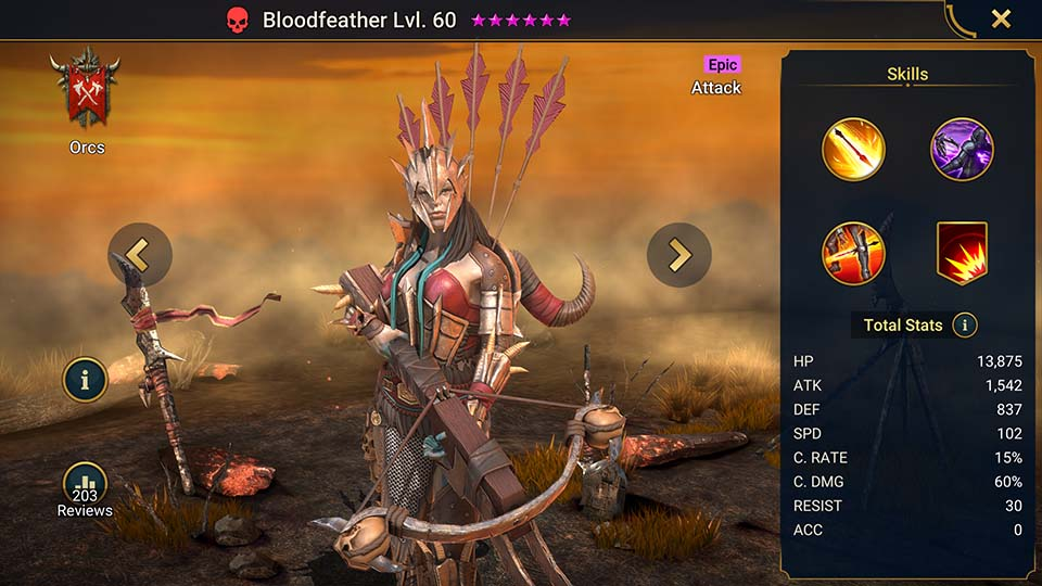 Raid Shadow Legends Bloodfeather