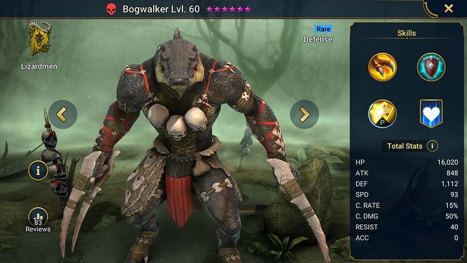 Raid Shadow Legends Bogwalker