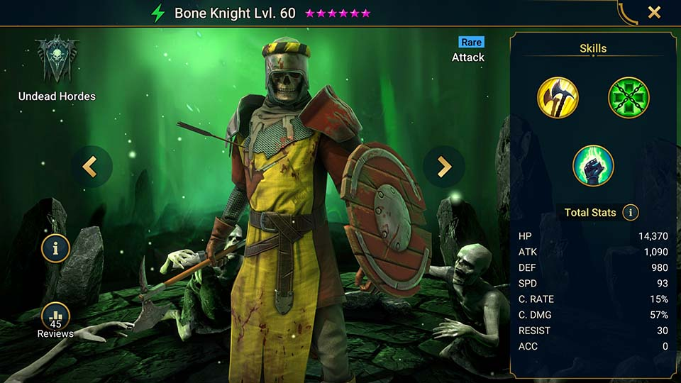 Raid Shadow Legends Bone Knight